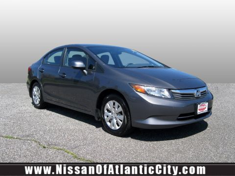 Pre-Owned 2012 Honda Civic Sdn 4dr Auto LX FWD 4dr Car