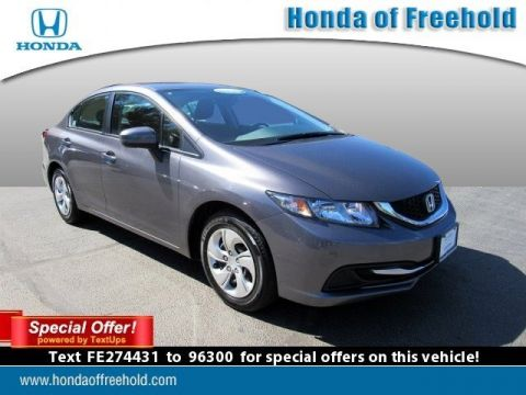 Certified Pre-Owned 2015 Honda Civic Sedan 4dr CVT LX FWD 4dr Car