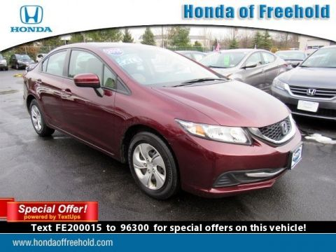 Pre-Owned 2015 Honda Civic Sedan 4dr CVT LX FWD 4dr Car
