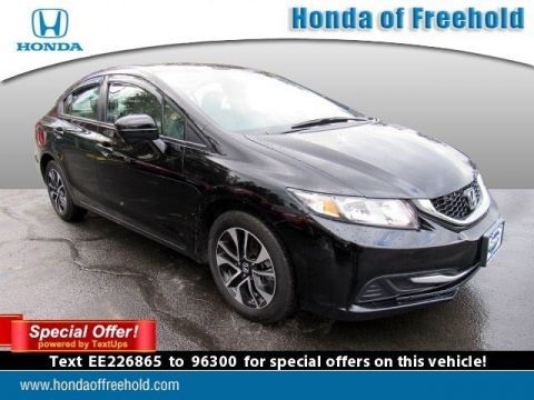 Pre-Owned 2014 Honda Civic Sedan 4dr CVT EX FWD 4dr Car