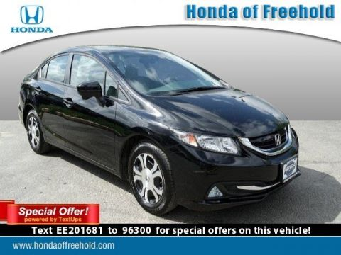 Certified Pre-Owned 2014 Honda Civic Hybrid  FWD 4dr Car