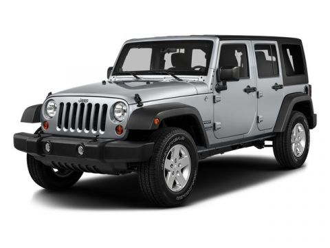 Pre-Owned 2016 Jeep Wrangler Unlimited 4WD 4dr Sport 4WD