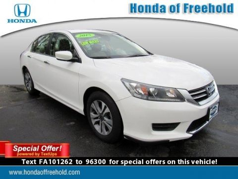 Pre-Owned 2015 Honda Accord Sedan 4dr I4 CVT LX FWD 4dr Car