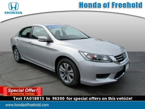 Certified Pre-Owned 2015 Honda Accord Sedan 4dr I4 CVT LX FWD 4dr Car