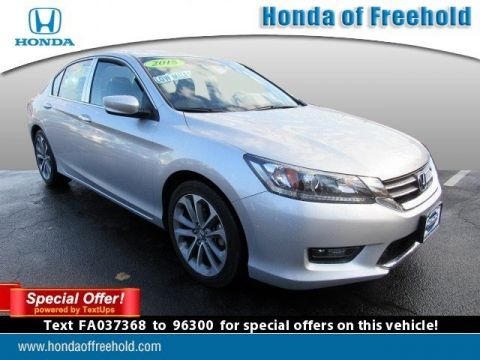 Pre-Owned 2015 Honda Accord Sedan 4dr I4 CVT Sport FWD 4dr Car