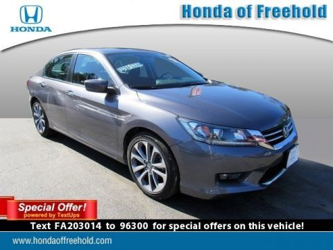 Certified Pre-Owned 2015 Honda Accord Sedan 4dr I4 CVT Sport FWD 4dr Car