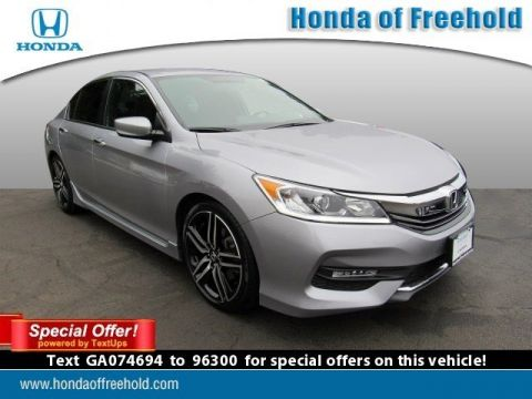Certified Pre-Owned 2016 Honda Accord Sedan 4dr I4 CVT Sport FWD 4dr Car