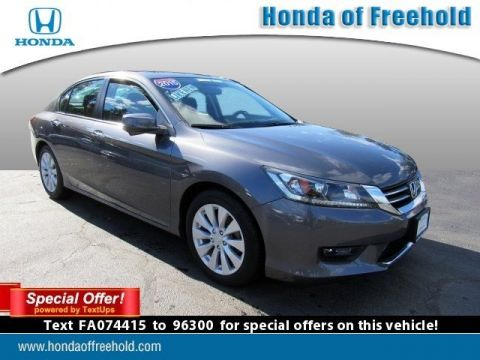 Certified Pre-Owned 2015 Honda Accord Sedan 4dr I4 CVT EX FWD 4dr Car