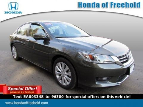 Certified Pre-Owned 2014 Honda Accord Sedan 4dr I4 CVT EX-L Front Wheel Drive 4dr Car