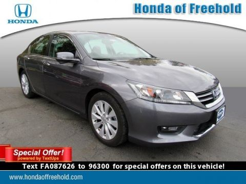 Certified Pre-Owned 2015 Honda Accord Sedan 4dr I4 CVT EX-L Front Wheel Drive 4dr Car