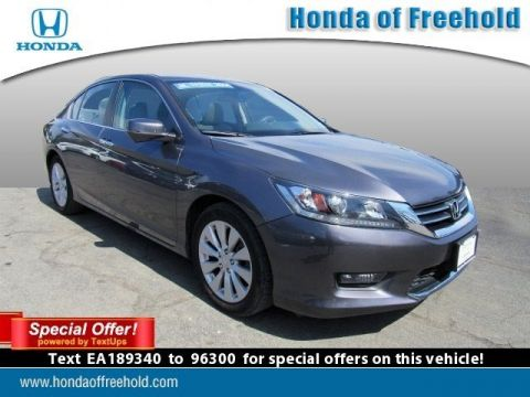 Certified Pre-Owned 2014 Honda Accord Sedan EX-L With Navigation