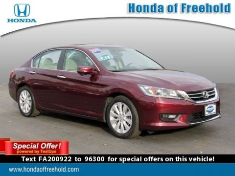 Certified Pre-Owned 2015 Honda Accord Sedan 4dr I4 CVT EX-L w/Navi Front Wheel Drive 4dr Car