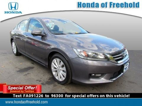 Pre-Owned 2015 Honda Accord Sedan 4dr I4 CVT EX-L Front Wheel Drive 4dr Car