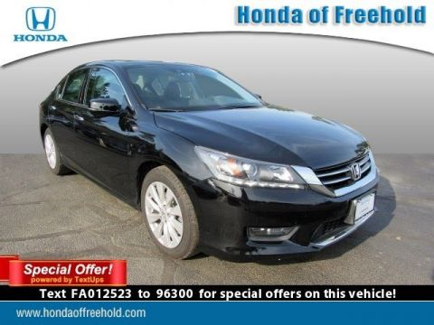 Certified Pre-Owned 2015 Honda Accord Sedan 4dr V6 Auto EX-L w/Navi FWD 4dr Car