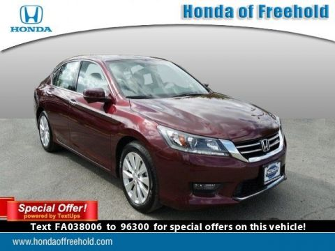Pre-Owned 2015 Honda Accord Sedan EX-L With Navigation