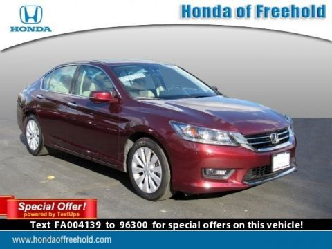 Certified Pre-Owned 2015 Honda Accord Sedan 4dr V6 Auto EX-L Front Wheel Drive 4dr Car