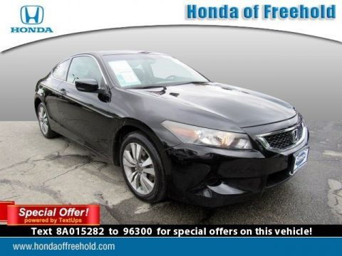 Pre-Owned 2008 Honda Accord Cpe EX-L FWD 2dr Car