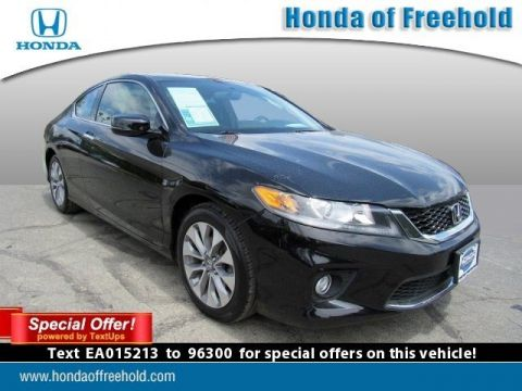 Certified Pre-Owned 2014 Honda Accord Coupe EX FWD 2dr Car