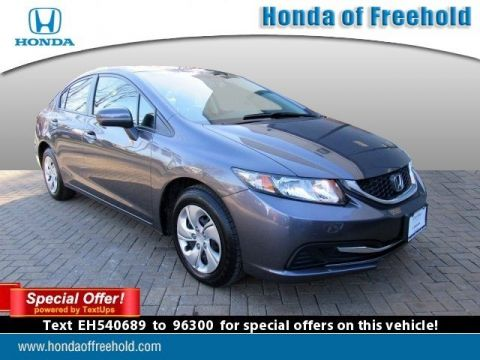 Certified Pre-Owned 2014 Honda Civic Sedan LX FWD 4dr Car