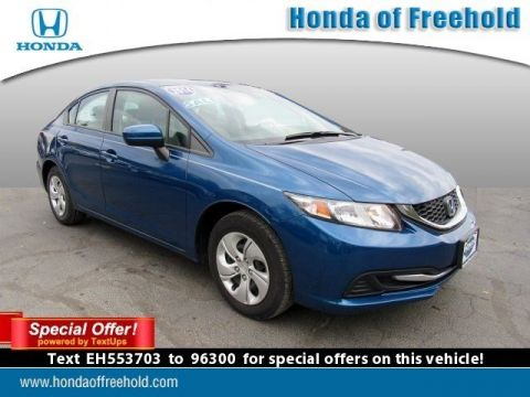 Certified Pre-Owned 2014 Honda Civic Sedan 4dr CVT LX FWD 4dr Car