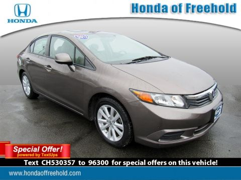 Pre-Owned 2012 Honda Civic Sdn 4dr Auto EX Front Wheel Drive 4dr Car