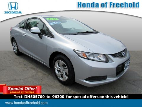 Pre-Owned 2013 Honda Civic Cpe 2dr Auto LX FWD 2dr Car