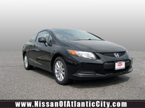 Pre-Owned 2012 Honda Civic Cpe 2dr Auto EX Front Wheel Drive 2dr Car