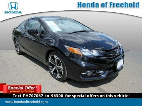 Certified Pre-Owned 2015 Honda Civic Coupe Si FWD 2dr Car