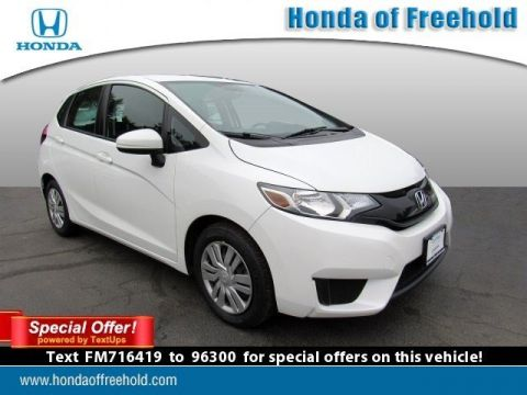 Certified Pre-Owned 2015 Honda Fit 5dr HB CVT LX FWD Hatchback