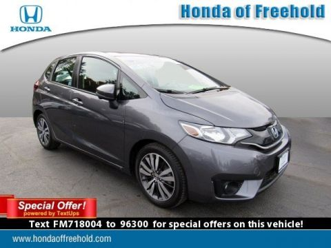 Certified Pre-Owned 2015 Honda Fit 5dr HB CVT EX FWD Hatchback