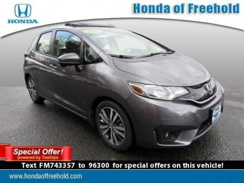 Pre-Owned 2015 Honda Fit 5dr HB CVT EX FWD Hatchback