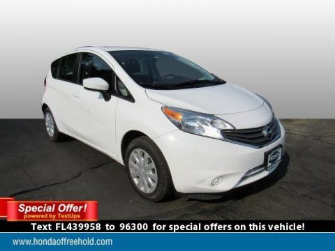 Pre-Owned 2015 Nissan Versa Note 5dr HB CVT 1.6 S Plus FWD Hatchback