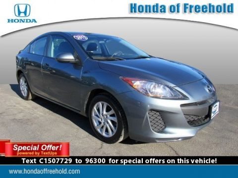 Pre-Owned 2012 Mazda3 4dr Sdn Auto i Touring *Ltd Avail* Front Wheel Drive 4dr Car