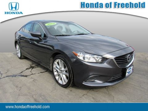 Pre-Owned 2014 Mazda6 4dr Sdn Auto i Touring Front Wheel Drive 4dr Car