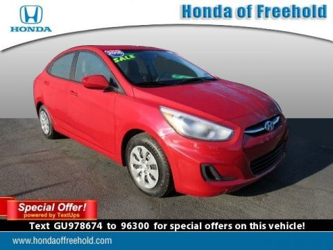 Pre-Owned 2016 Hyundai Accent 4dr Sdn Auto SE FWD 4dr Car