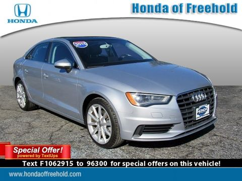 Pre-Owned 2015 Audi A3 4dr Sdn FWD 1.8T Premium FWD 4dr Car