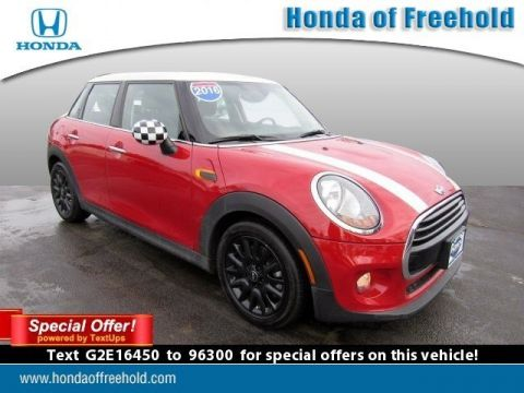 Pre-Owned 2016 MINI Cooper Hardtop 4 Door 4dr HB FWD Hatchback