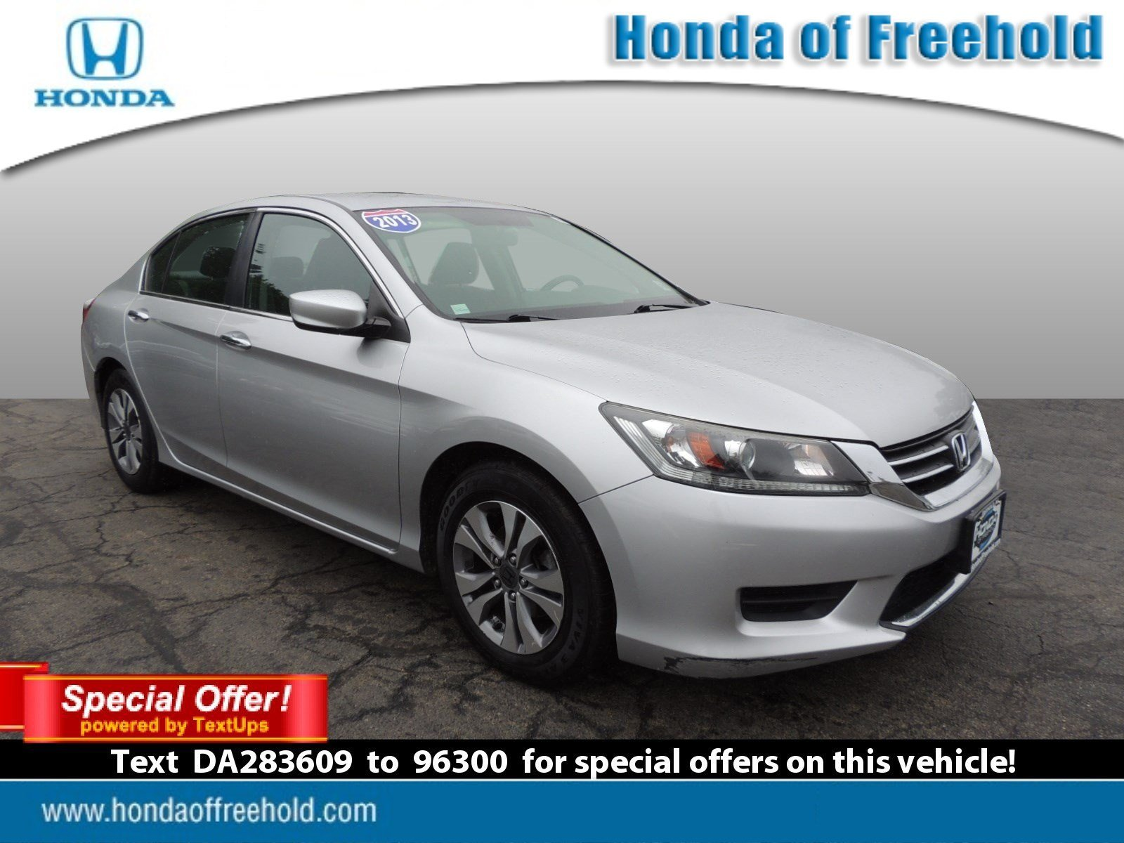 Pre Owned 2013 Honda Accord Sdn LX 4dr Car in Freehold T6224