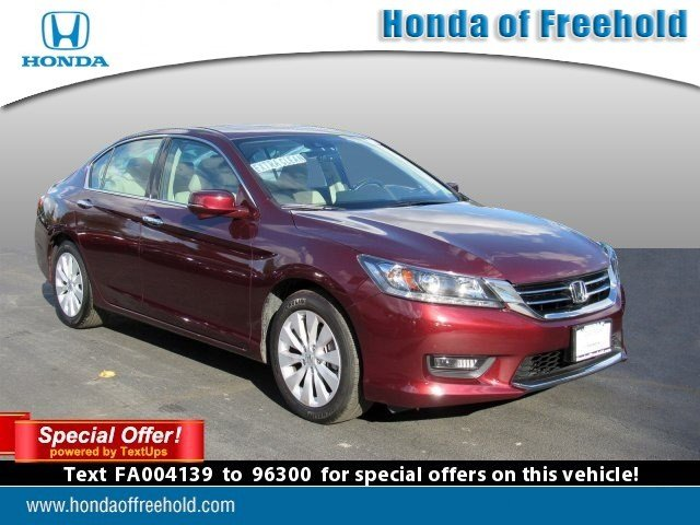 Certified PreOwned Honda Accord Sedan EXL Dr Car In - Accord vehicle