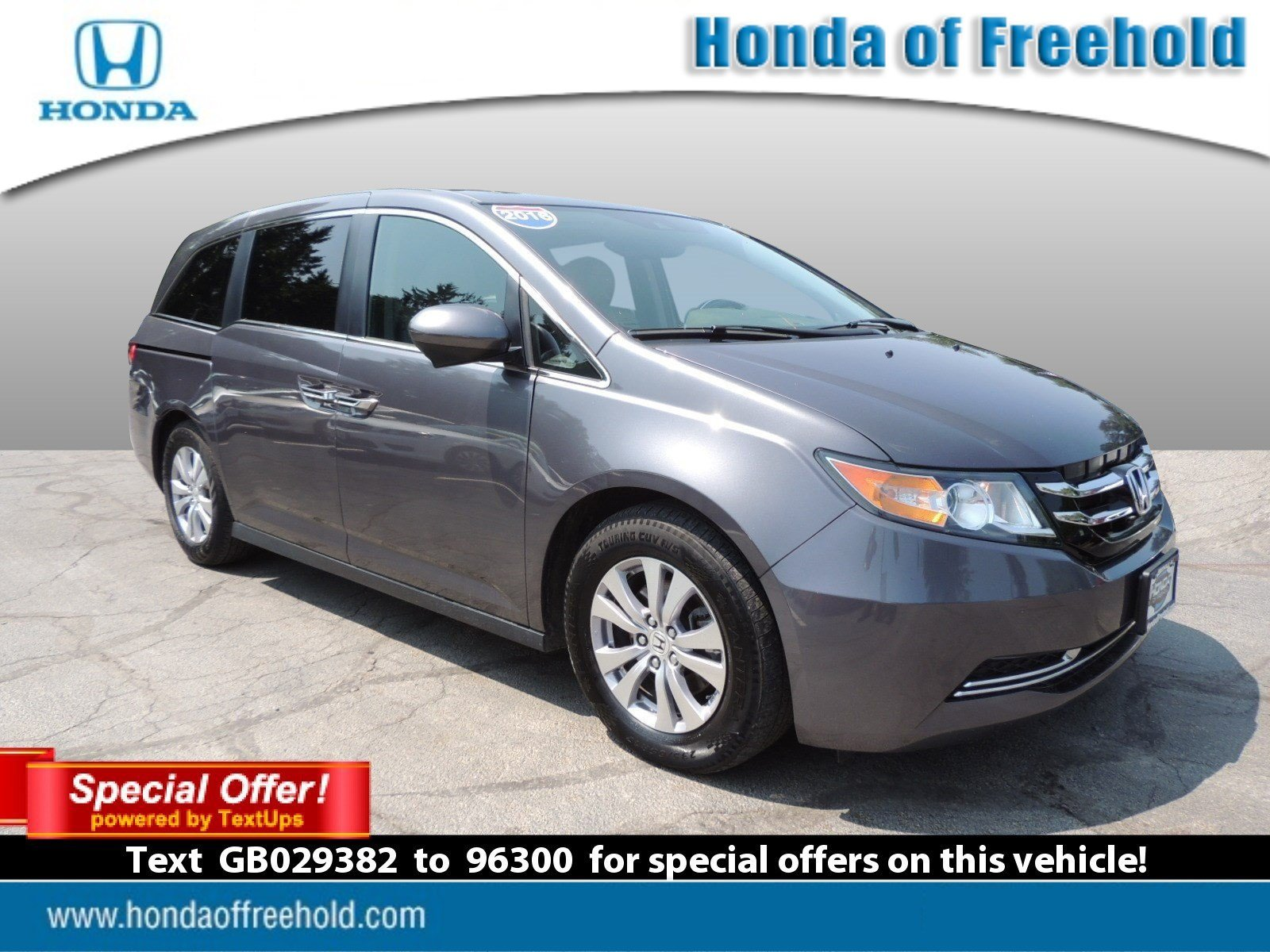 High Quality Certified Pre Owned 2016 Honda Odyssey EX L