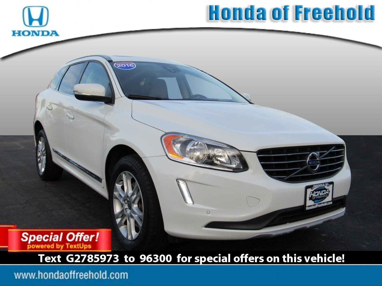 pre-owned 2016 volvo xc60 t5 premier sport utility in freehold