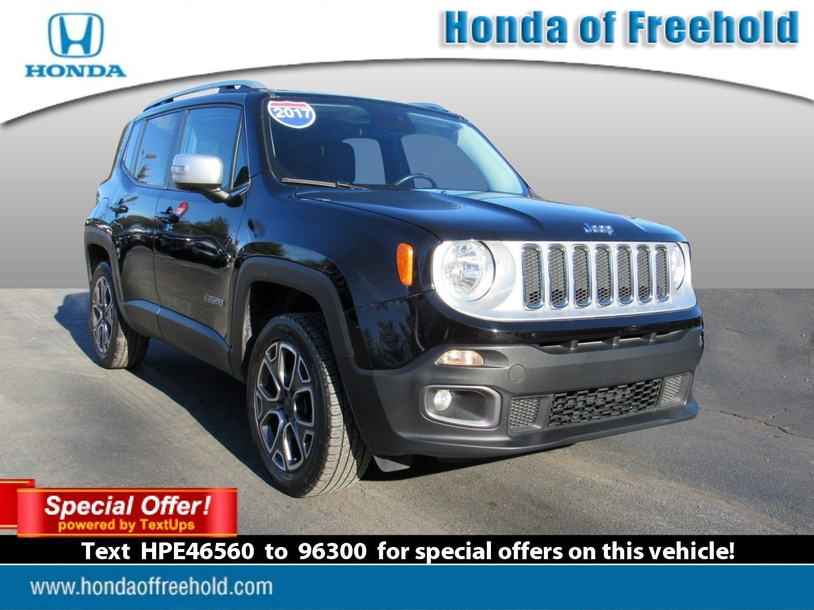 Pre Owned 2017 Jeep Renegade Limited